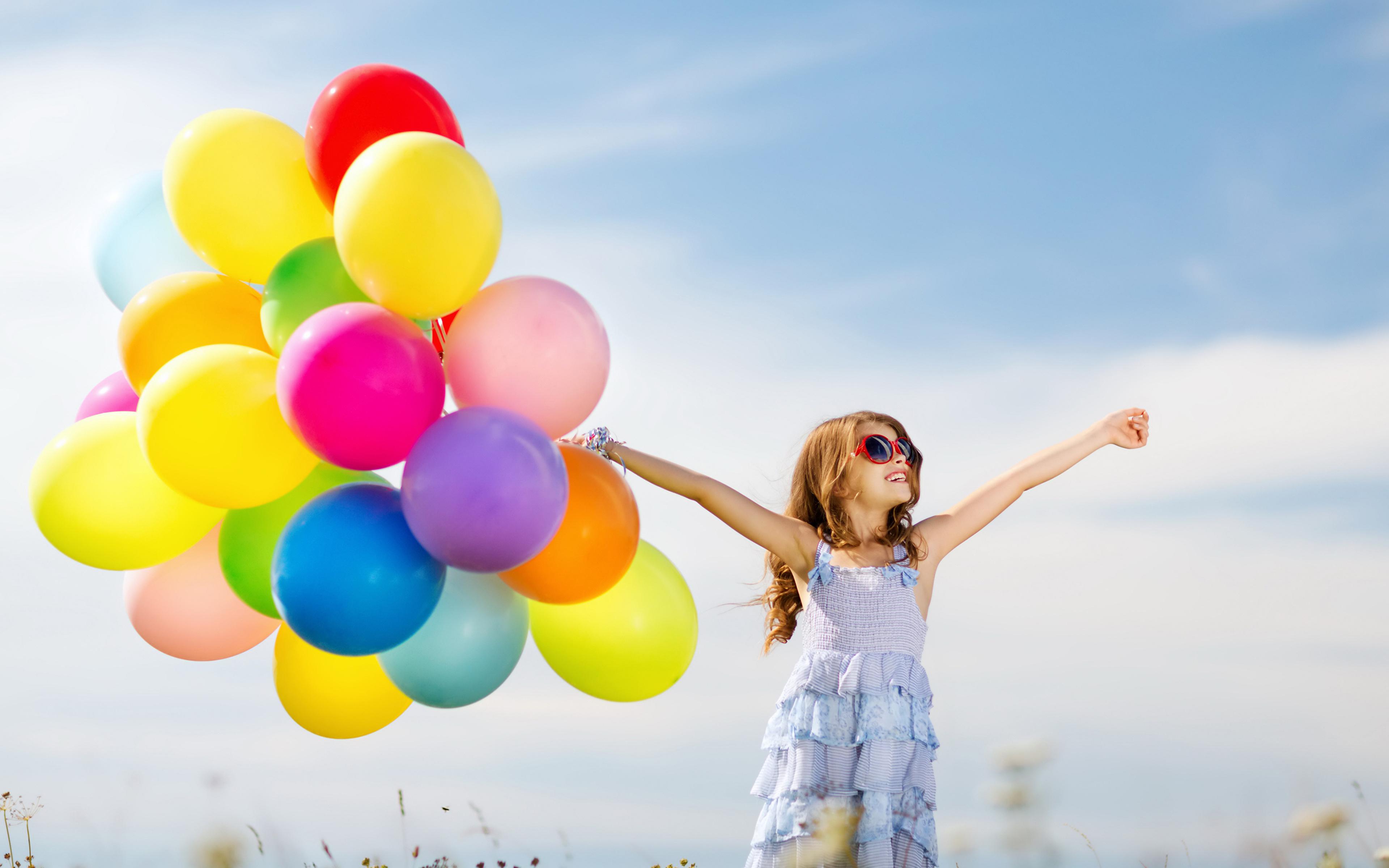 Воздушный шар и ребенок 34