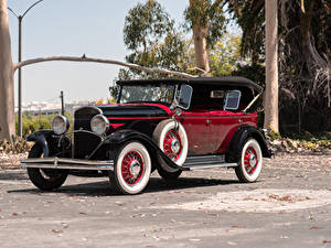 Обои для рабочего стола Крайслер Винтаж Металлик 1930 Series 77 Phaeton авто