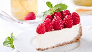 Обои Сладкая еда Пирожное Малина Пища