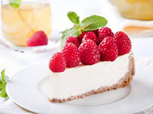 Обои Сладости Пирожное Малина Пища