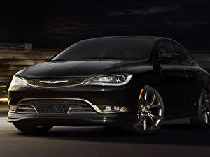 Фотографии Chrysler Черная 2016 200S Alloy Edition