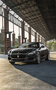 Фотографии Maserati Серая Металлик 2017 Quattroporte GTS GranSport авто