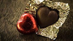 Фотографии День святого Валентина Сладости Конфеты Шоколад 2 Еда