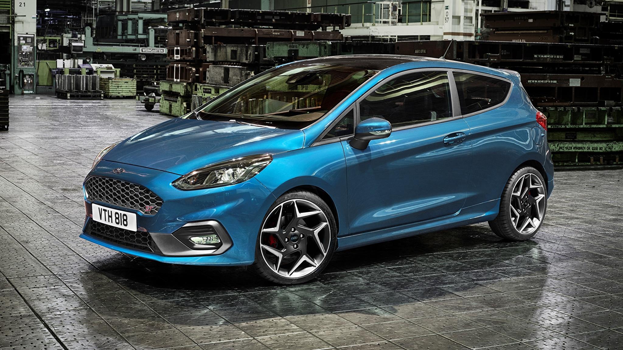 форд фиеста синий фото #9