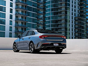 Картинка KIA Металлик Сзади K5 EX North America, 2020 Автомобили