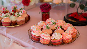 Обои Сладкая еда Пирожное Капкейк кекс Дизайна Продукты питания