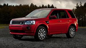 Фотографии Range Rover Красная Металлик CUV Freelander 2, LR2, 2010 авто