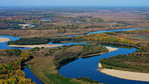 Фотография Россия Реки Осенние Лес river Urmi Habarovskij kraj Природа