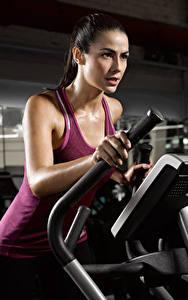 Картинка Фитнес Майка Физические упражнения Спорт