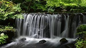 Фотография Водопады Камни Речка