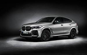 Фото БМВ Серебряный X6 M Competition 'First Edition', (F96), 2020 авто