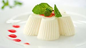 Фотографии Сладости Десерт Желе