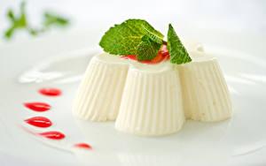 Фотографии Сладости Десерт Желе Продукты питания
