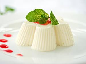 Фотографии Сладкая еда Десерт Желе Продукты питания