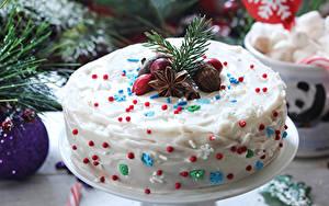 Фотография Рождество Сладости Торты Бадьян звезда аниса Дизайн Пища
