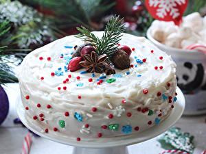 Фотография Рождество Сладости Торты Бадьян звезда аниса Дизайн