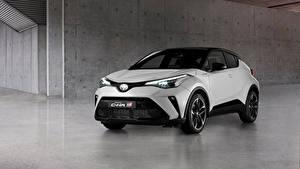 Фото Тойота CUV Белые Металлик C-HR Hybrid GR Sport, EU-spec, 2020 авто