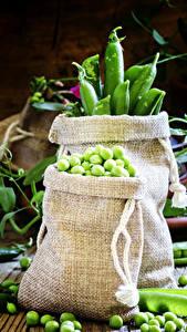 Картинки Овощи Горох Зерна Пища