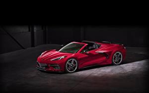 Фото Шевроле Родстер Красная 2020 Corvette C8 Stingray
