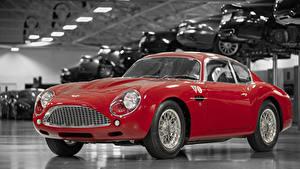 Обои для рабочего стола Aston Martin Красная Металлик 2019 DB4 GTZ Continuation Zagato авто