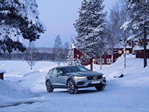 Фотография Volvo Зима Металлик 2018-19 V60 T5 Cross Country автомобиль