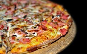 Фотография Пицца Вблизи Еда