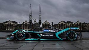Картинка Ягуар Стайлинг Формула 1 Сбоку 2018 I-Type 3 Автомобили