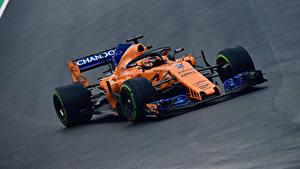 Фотография McLaren Формула 1 Оранжевые 2018 MCL33 Автомобили