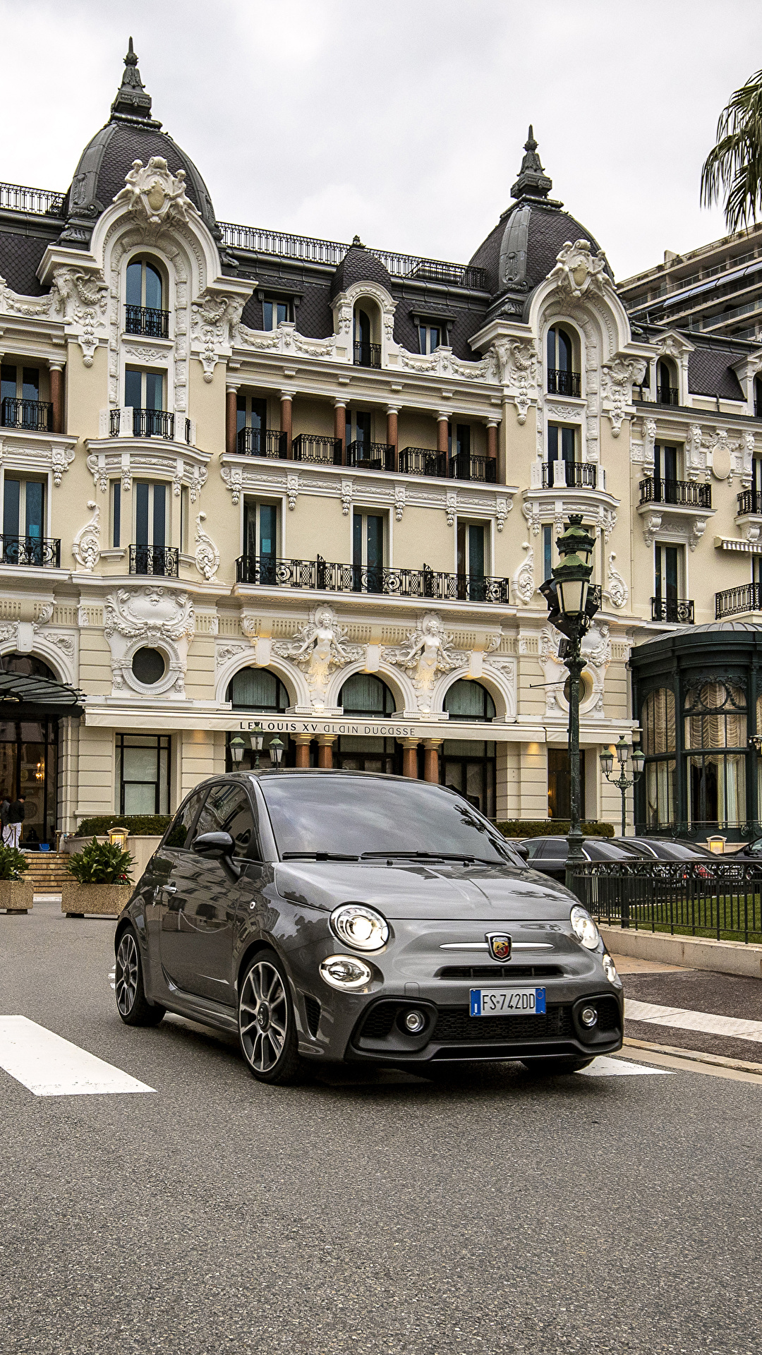 Фотографии Abarth 2019 595 Turismo 70esimo Anniversario Серый машина Металлик 1080x1920 для мобильного телефона Абарф серые серая авто машины автомобиль Автомобили