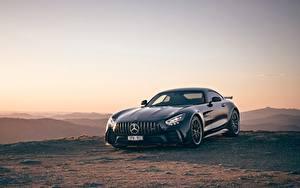 Фотография Вечер Мерседес бенц Металлик Черная AU-spec, GT R, 2019 авто