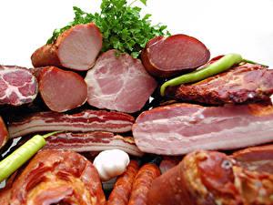 Фотография Мясные продукты Ветчина Еда