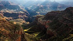 Фото Штаты Гранд-Каньон парк Парки Горы Каньон