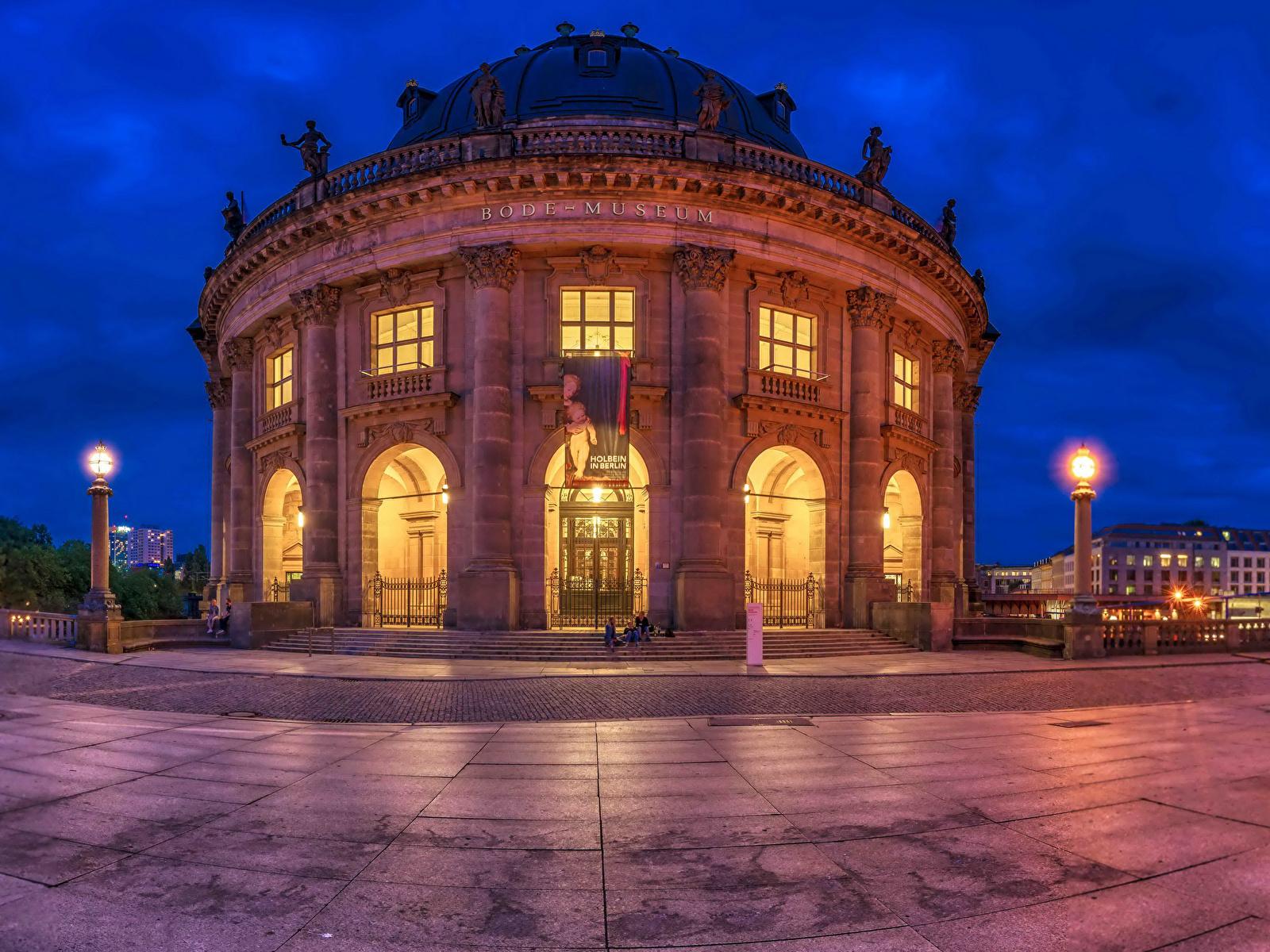 Обои museum, bode, berlin. Города foto 15