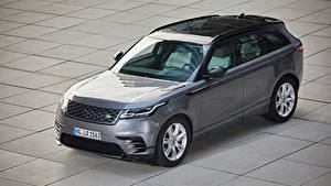 Обои Land Rover CUV Серый Металлик 2018-20 Velar R-Dynamic P300 SE Worldwide Автомобили