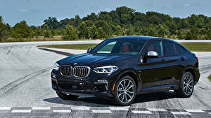 Фото BMW Синяя Металлик 2019 X4 M40i Машины