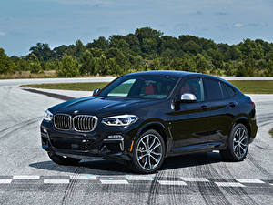 Фото BMW Синий Металлик 2019 X4 M40i Машины