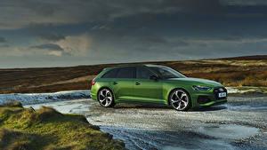 Фото Ауди Зеленая Универсал 2020 RS 4 Avant авто