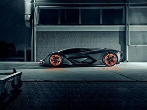 Обои Ламборгини Сбоку Hypercar, Terzo Millennio Автомобили