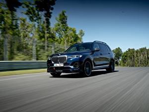 Фото BMW Дороги Едущий Металлик CUV Alpina XB7 Worldwide, G07, 2020 Автомобили