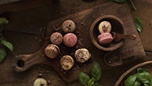 Фото Шоколад Разделочной доске Макарон
