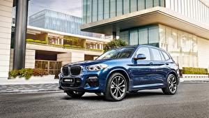 Обои BMW Синий Металлик CUV X 3M, G08