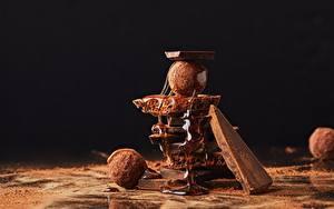 Обои Шоколад Конфеты Мед Какао порошок