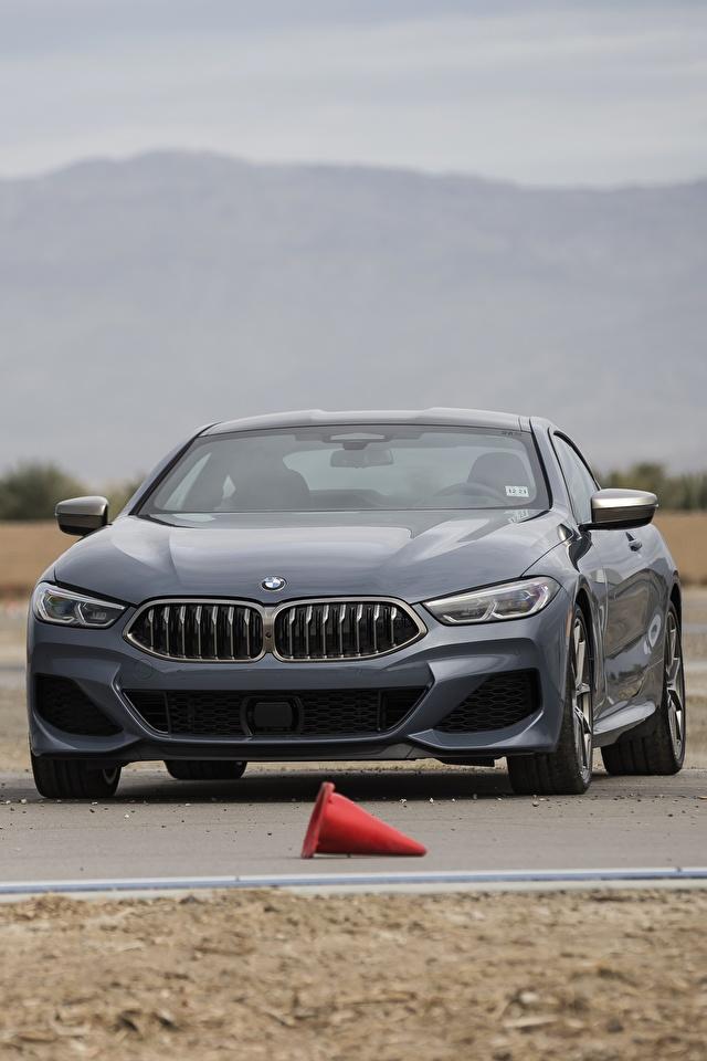 Фотографии BMW 2018 8-Series 2019 M850i xDrive 8er G15 Серый Автомобили 640x960 для мобильного телефона БМВ серая серые авто машины машина автомобиль