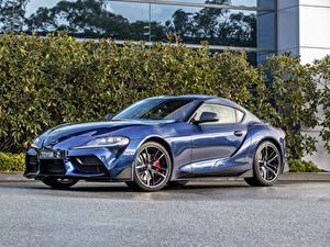 Фотография Тойота Голубая Металлик 2019 GR Supra GTS авто