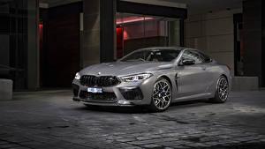 Обои BMW Купе Серая 2020 M8 Competition Coupé машина