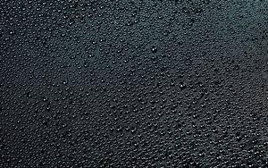 Обои Текстура Капель Черные На черном фоне