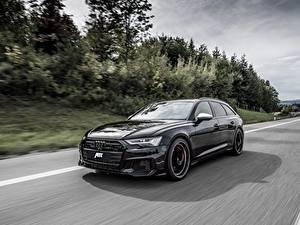 Фотографии Ауди Едущий Универсал Черная Металлик TDI, ABT, Avant, 2019, Audi S6