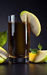 Фотография Напиток Сок Яблоки Пища