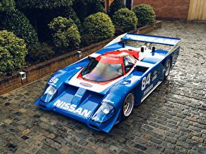 Фото Винтаж Ниссан Стайлинг Голубая Металлик 1985-91 GTP ZX-Turbo Автомобили