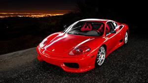 Фотография Ferrari Красный Металлик 2003-04 Challenge Stradale Pininfarina